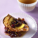 Baked Acorn Squash with Cranberry-Orange Sauce